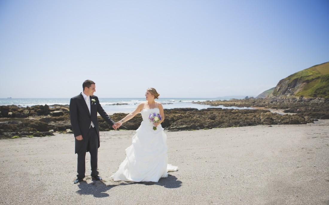 Becca & Dan/Whitsand Bay Hotel