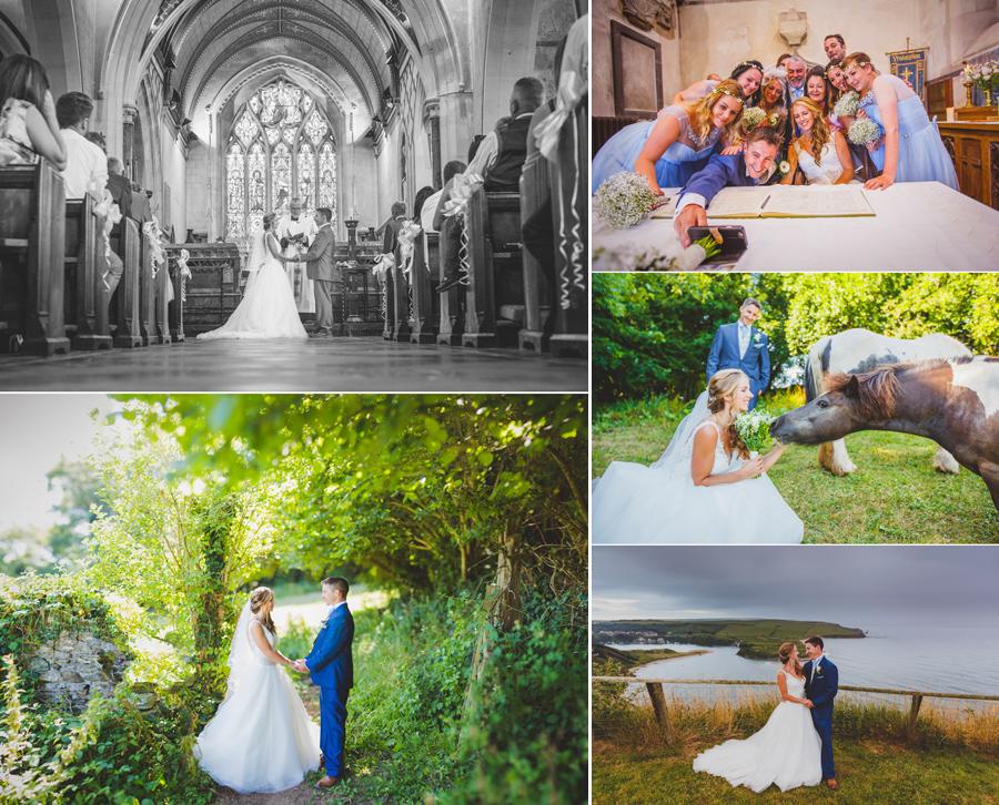 Danielle & Shaun Devon Wedding - Mount Folly Farm & Yealmpton