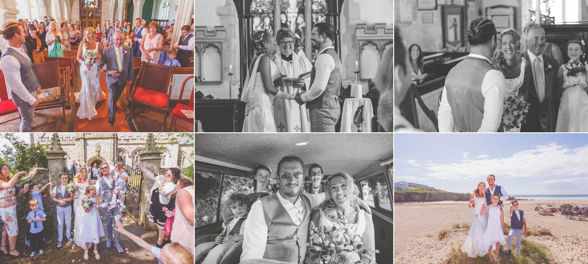 Wedding Photographer Cornwall - Richie & Nicki