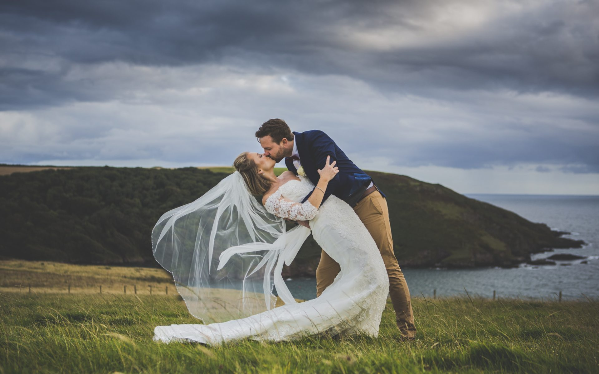 Devon Wedding Photography - New Barton Barns - Rachel & Mike