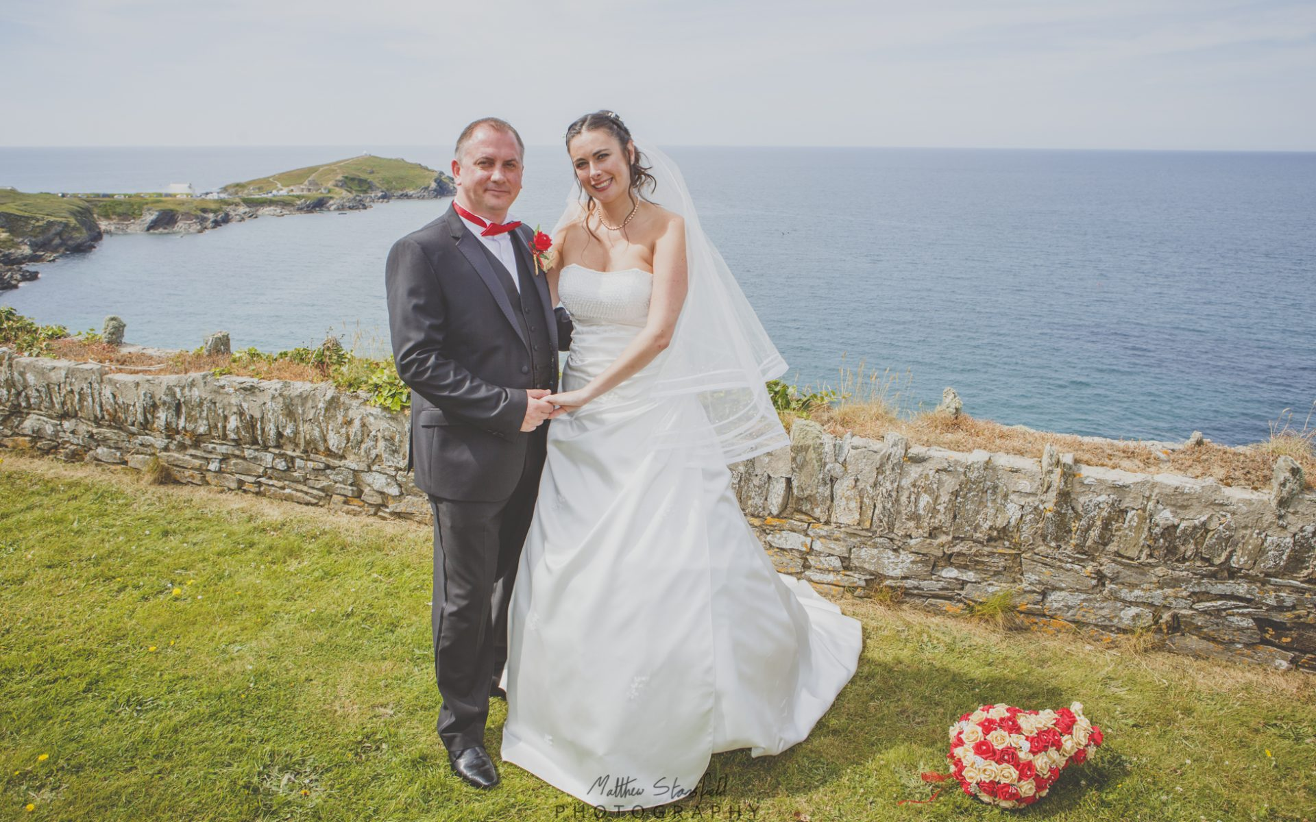 Cornwall Wedding Photography - Laura & Andrew - The Atlantic Hotel