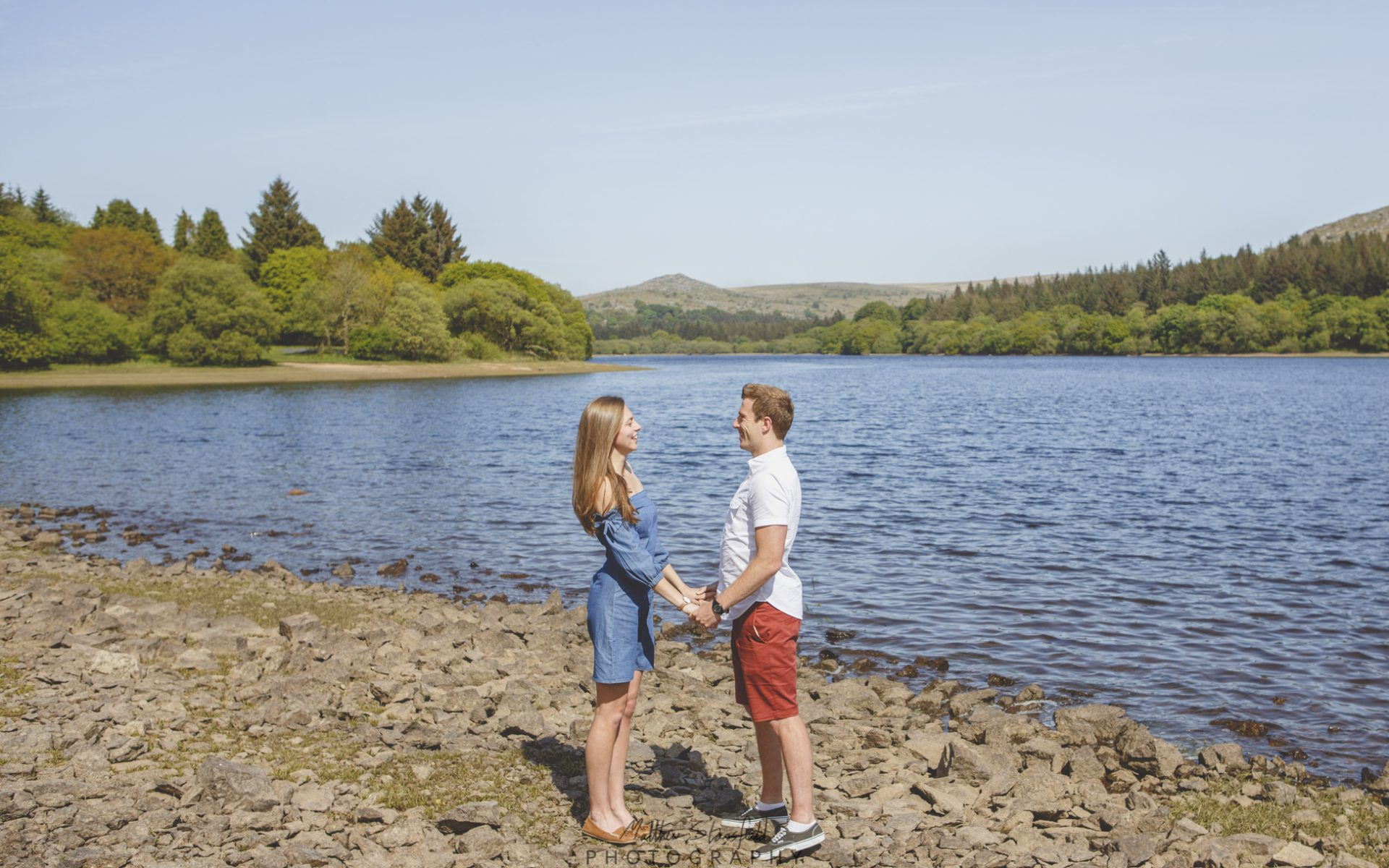 Grace & Dan - Burrator Reservoir