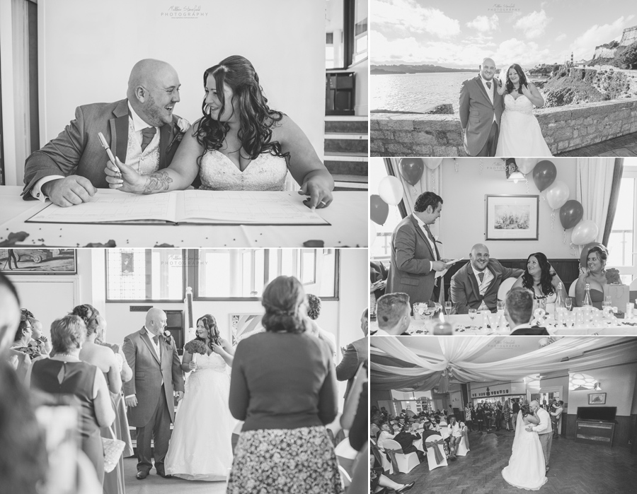 Plymouth Wedding of Rachel & Matthew at the Corinthian Yacht Club