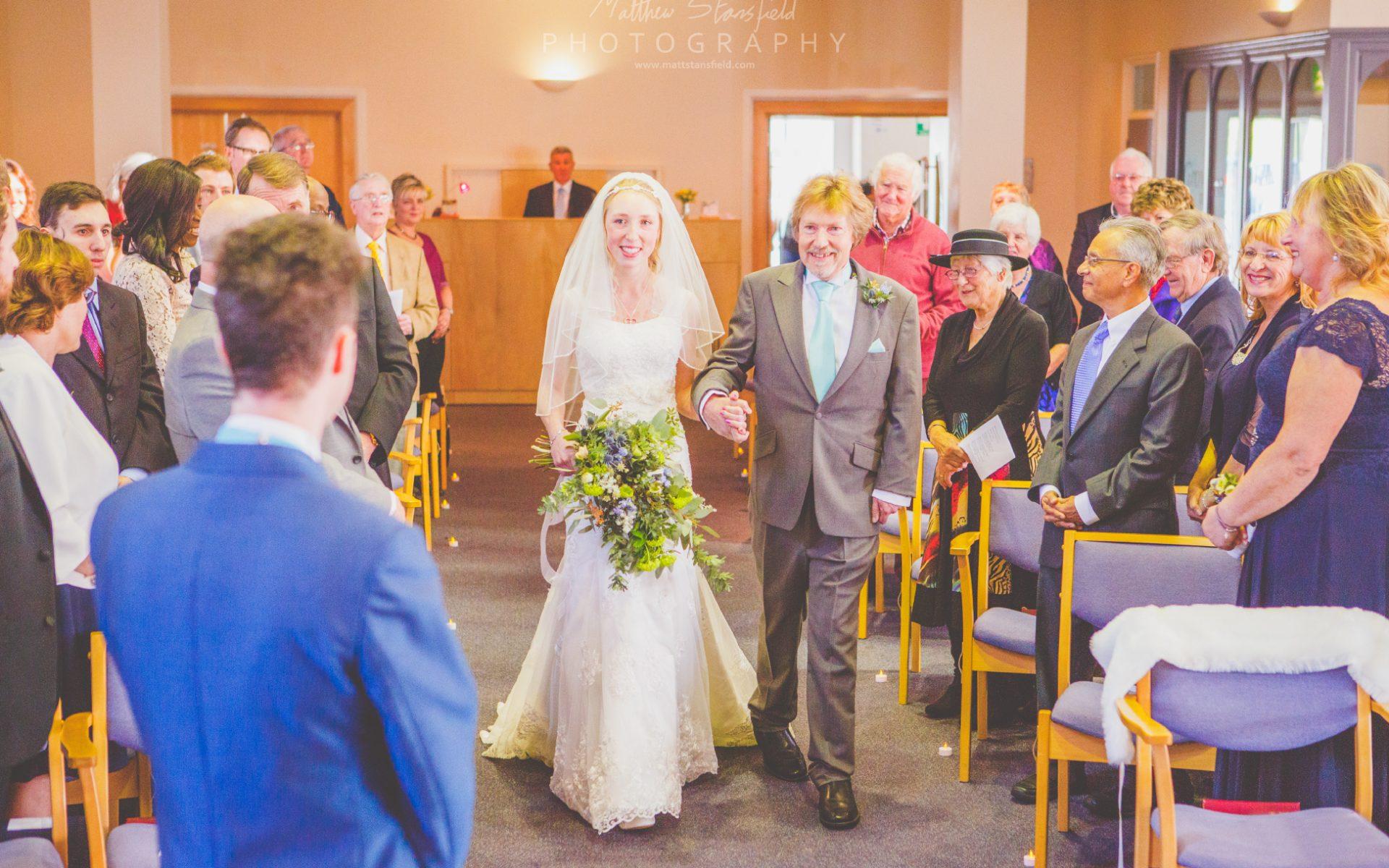 Charlotte & Richard - South Devon Wedding Photography Plymouth Methodist Central Hall