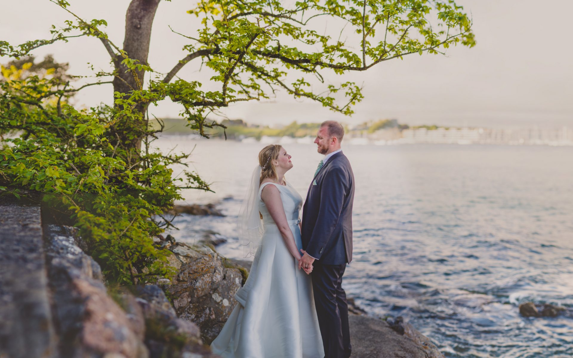 Wedding Photographer Cornwall - Catrin & John Mount Edcumbe Wedding