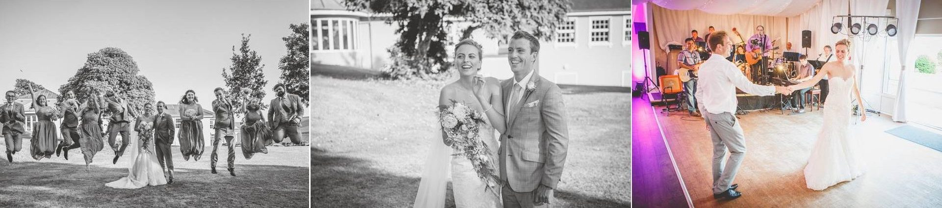 Grace & Dan - Wedding Photography Preview - The Elfordleigh Hotel