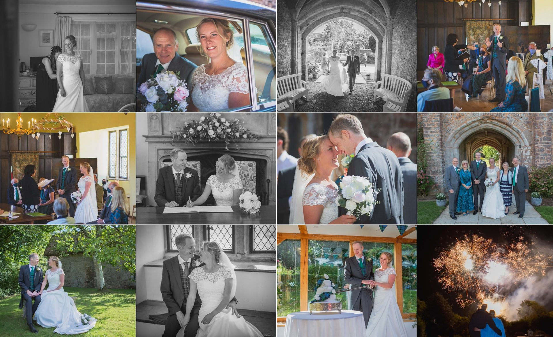 Jenny & Malcome - Bickleigh Castle