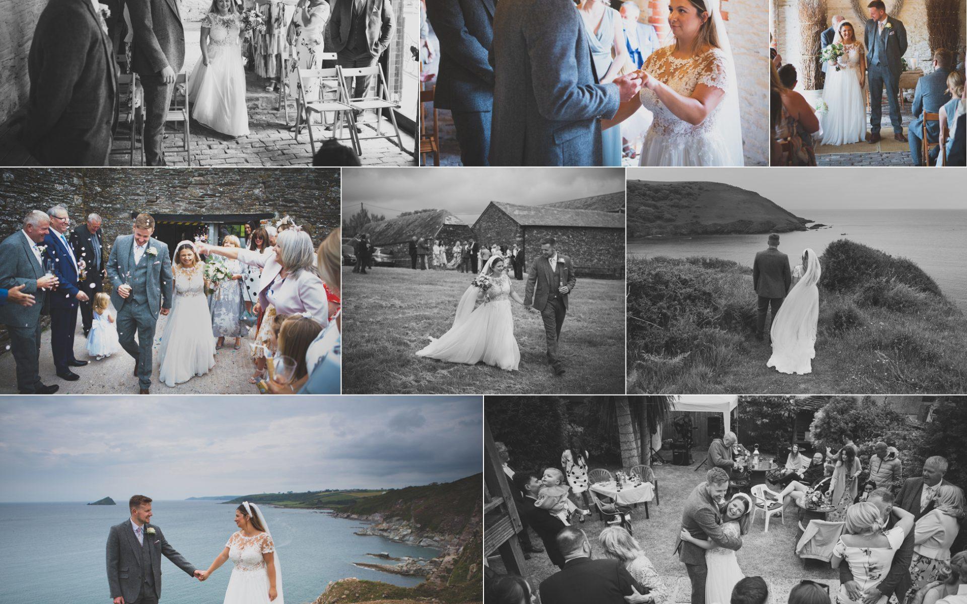 Leah & Scott - Devon Wedding, New Barton Barns